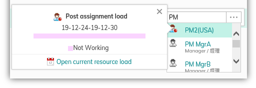 resource workload-US